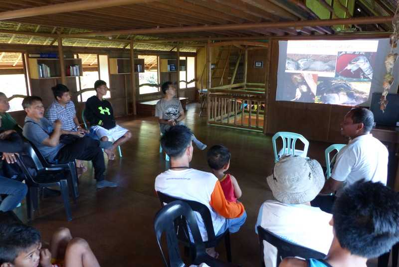 Snake Community Workshop at Sakahang Lilok farm