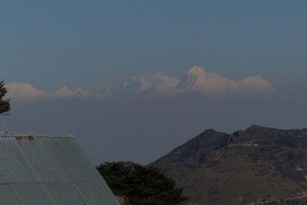 Views of Lhotse, Everest, and Makalu from Sandakhphu