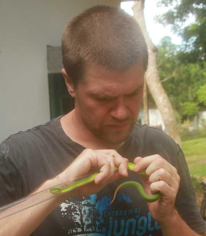 Jon Hakim Bangkok Herps herping in bangladesh viper creative conservation alliance
