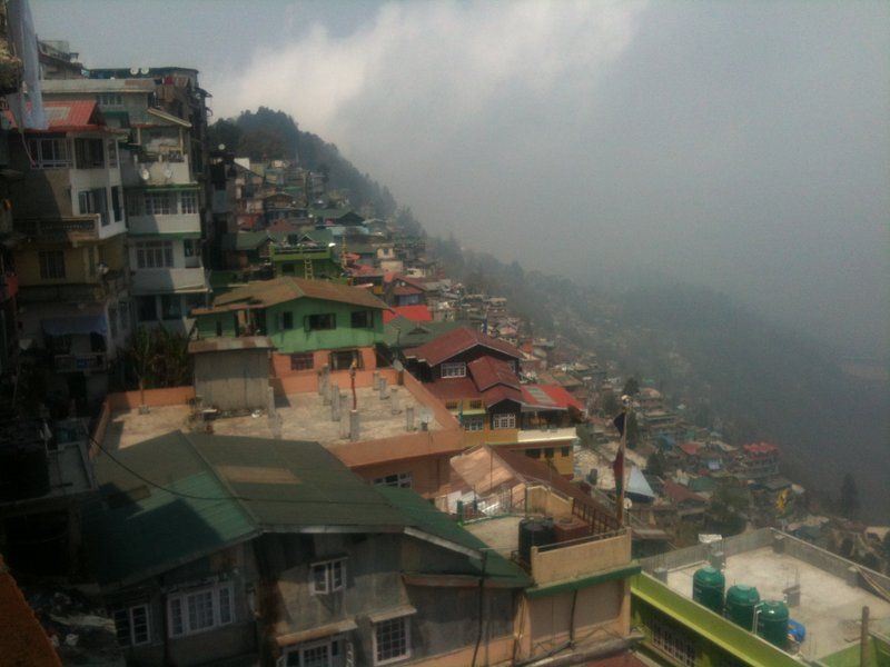 Darjeeling is NOT a city laid out well for sick people