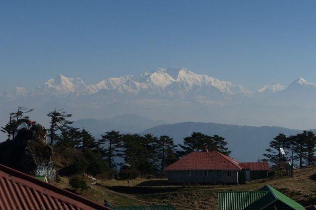 View of Kanchonjonga from Sandakhphu